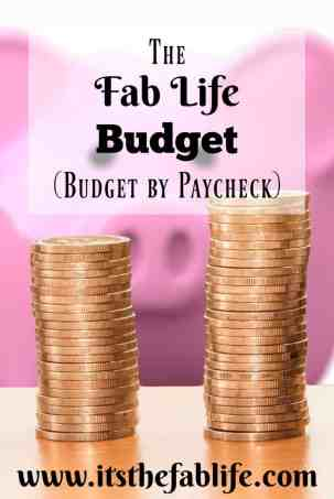 The Fab Life Budget | The Only Budgeting System You Need | Budget By Paycheck | #budgeting #moneymanagement #money #bills #budget