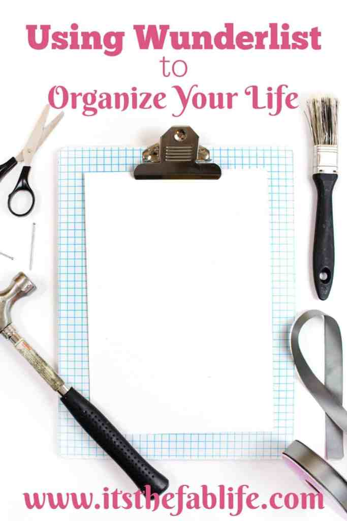 Best List-Making App to Organize Your Life | Using Wunderlist | #organization #lists #todolist