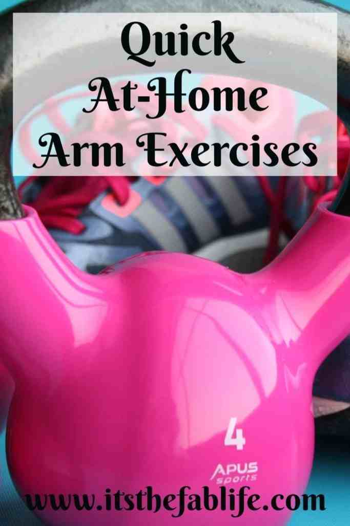 Quick At-Home Arm Exercises | Toned Arms | Home Fitness | #fitness #exercise #exerciseroutine #thefitlife