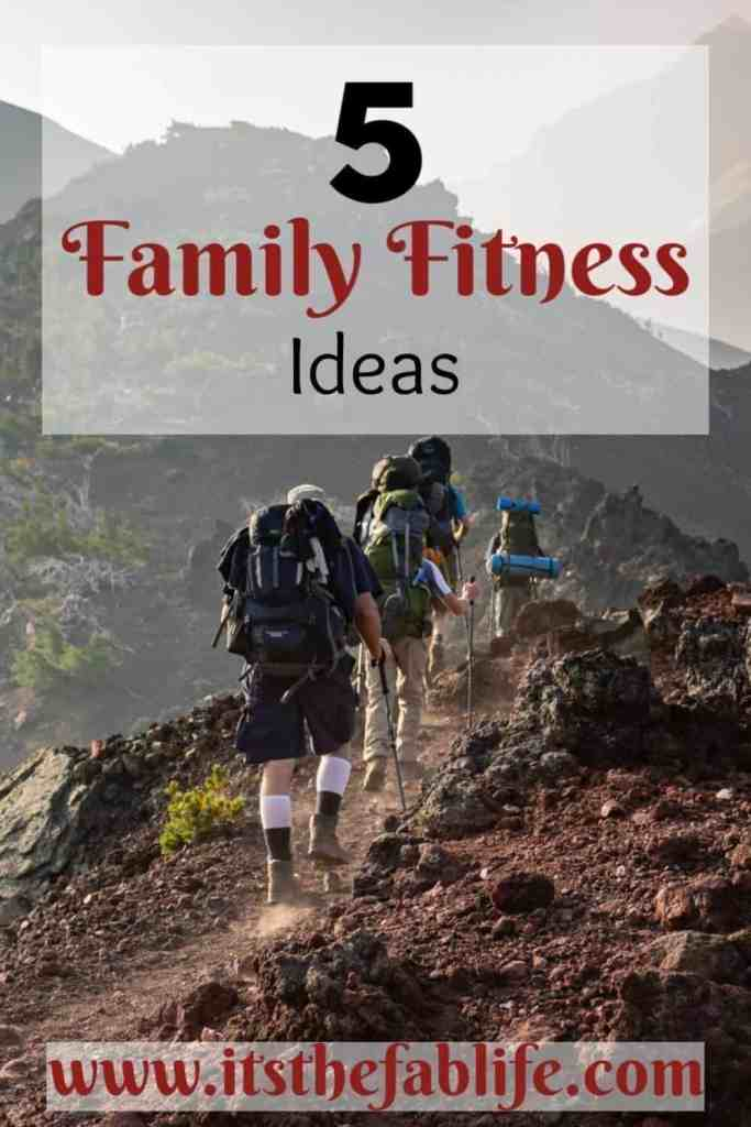 5 Family Fitness Ideas | Family Fitness | Weekend Fitness | #exercise #family #fitness #weekend