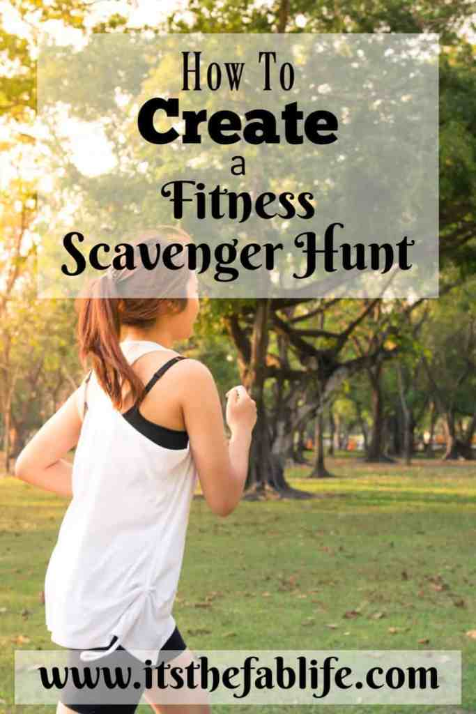 Fitness Scavenger Hunt | Create Your Own Fitness Scavenger Hunt | Fun Fitness Idea | #exercise #fitness #fitnessroutine #scavengerhunt
