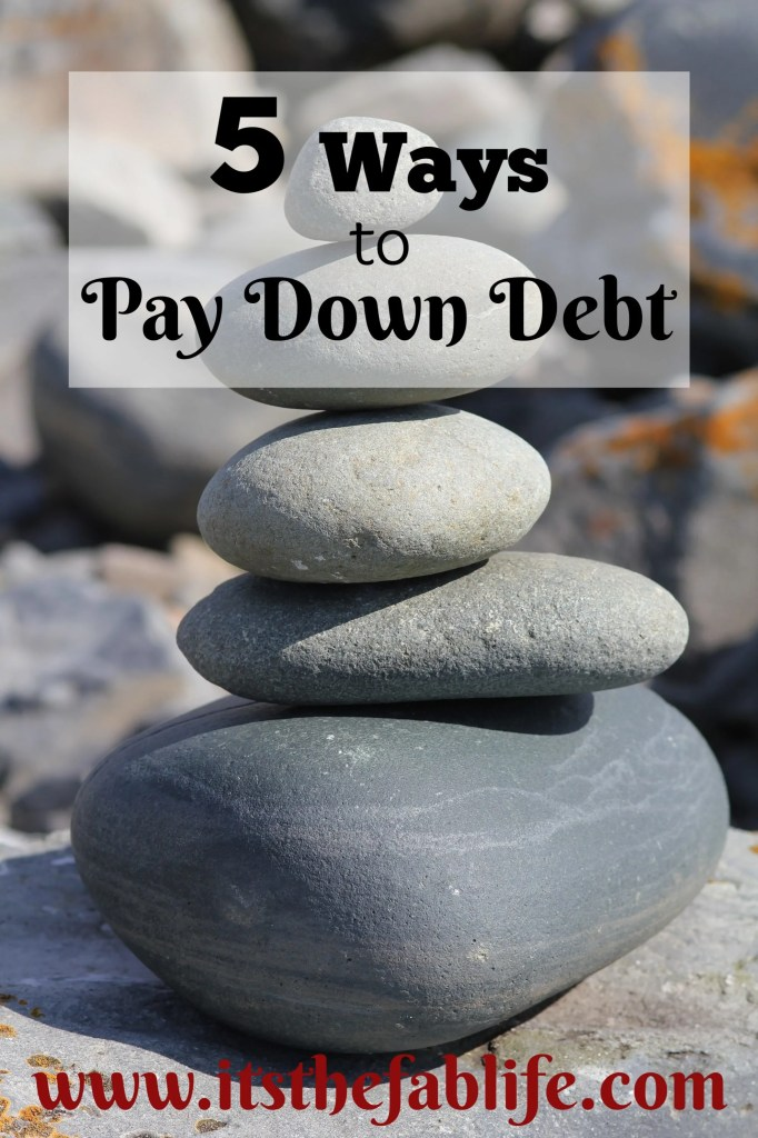 5 Ways to Pay Down Debt | Debt Payoff | #debtmanagement #moneymanagement #debtrelief #freedom #finance