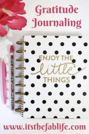 Start a Gratitude Journal | Journal Your Way to Thankfulness | #gratitude #thankful #happymind #happylife #findthepositive