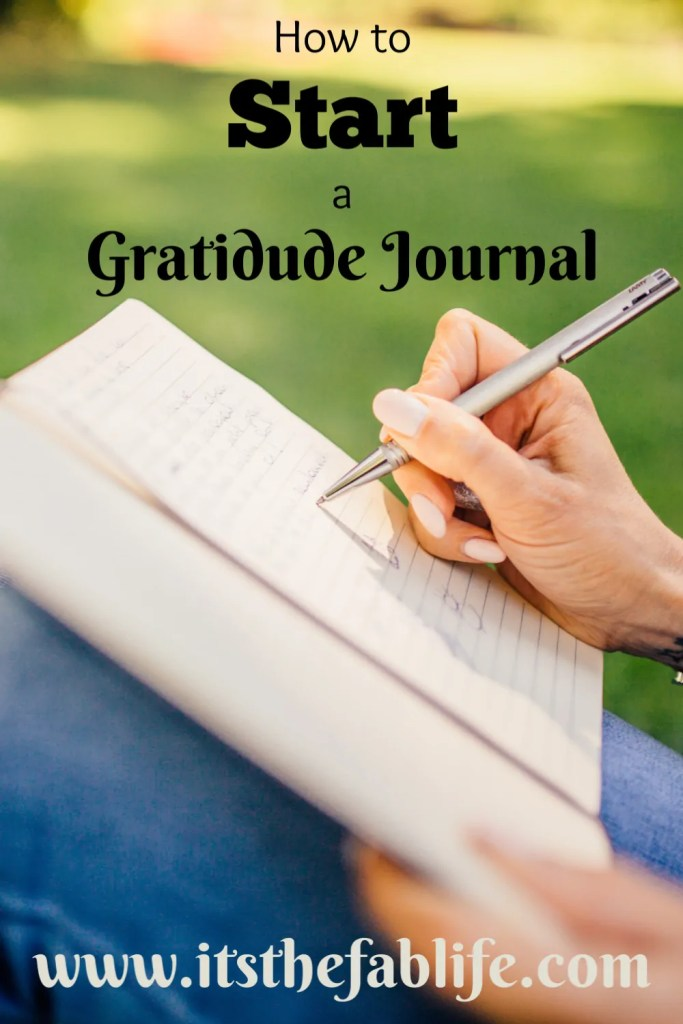Start a Gratitude Journal | Journal Your Way to Thankfulness | #gratitude #thankful #happymind #happylife #findthepositive