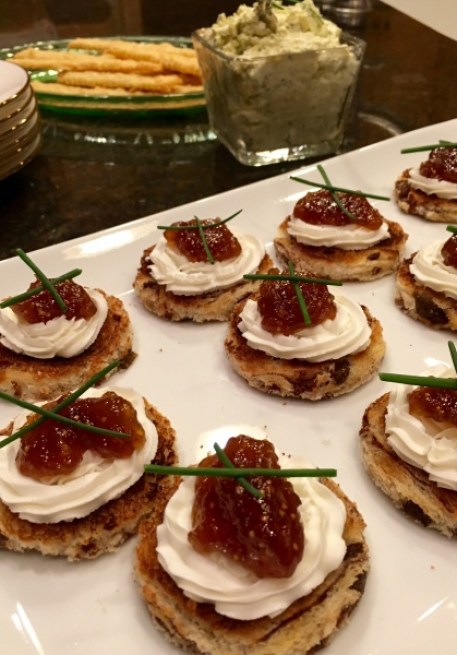 Downton Appetizers