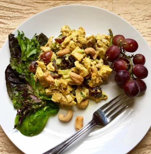 Curried Cashew Chicken Salad