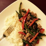 Spicy Turkey & Veggie Stir Fry
