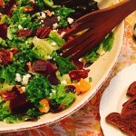 Beet Orange Spice Pecan Salad