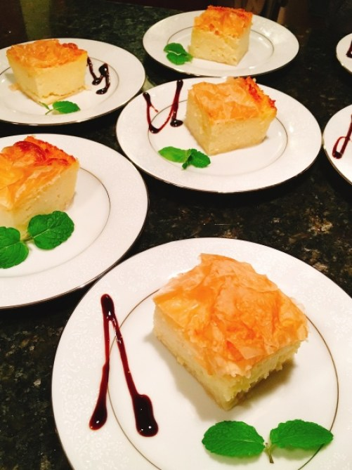 Greek Dessert Galaktboureko
