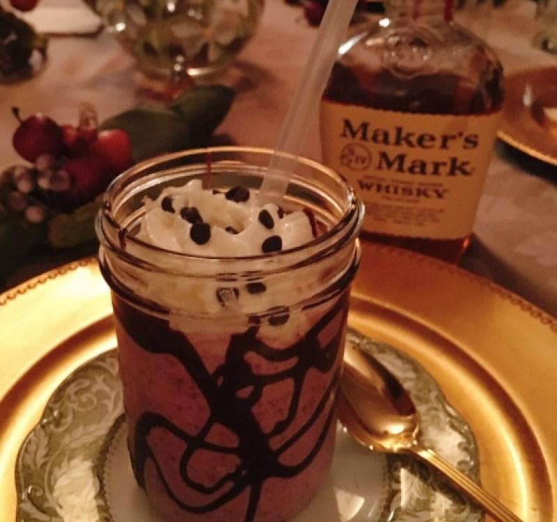 roasted-cherry-bourbon-milkshakes