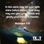 Let Your Light Shine - Thyme4Faith