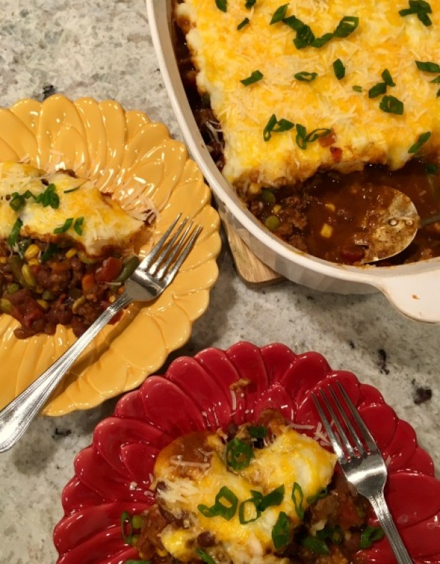 Chili Cottage Pie