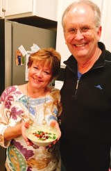 Rick And Tracey With Soup