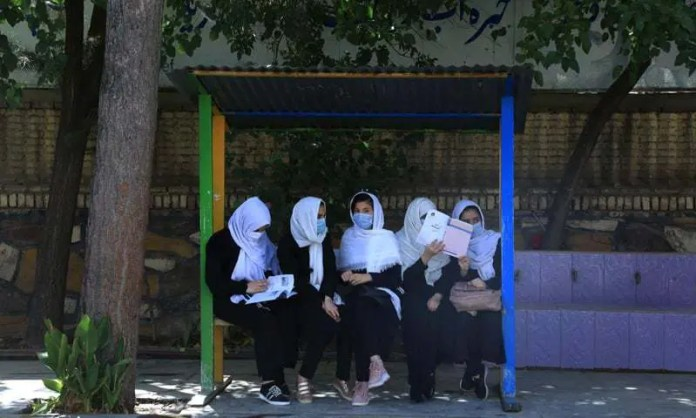 After Taliban control, Afghan girls return to school in Herat city.