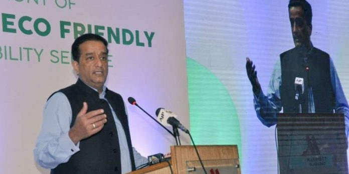 In-Islamabad-Pakistan-s-first-e-taxi-service-was-established