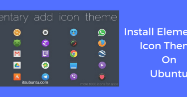 Install Elementary Icon Theme On Ubuntu