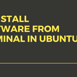 uninstall software from terminal in ubuntu