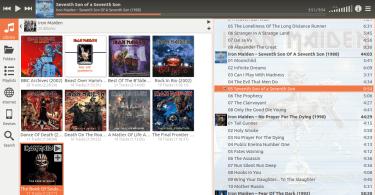 cantata music player in ubuntu