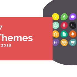 linux icon themes in 2018