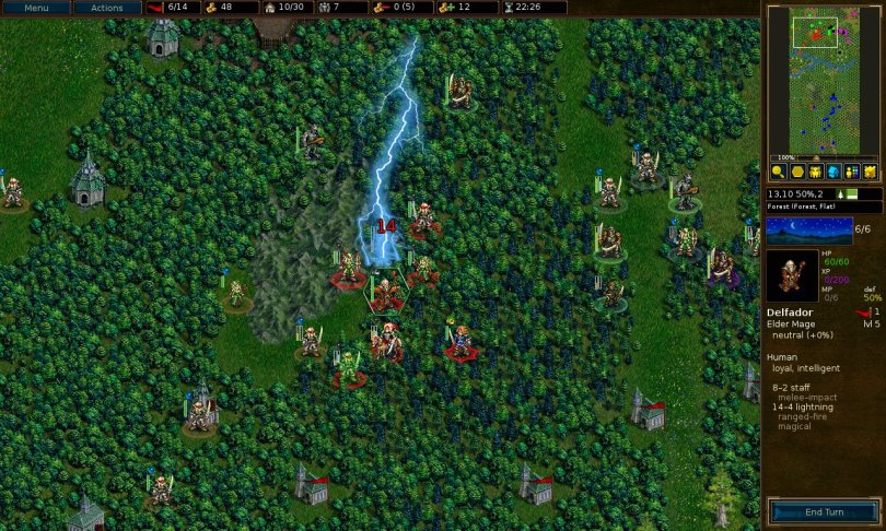 Install Battle For Wesnoth In Ubuntu : Tactical Strategy Game For Linux