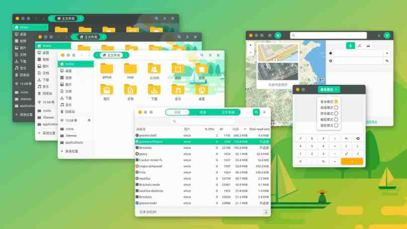 5 Awesome Linux Themes For MATE Desktop Environment