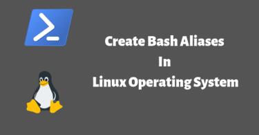 create bash aliases