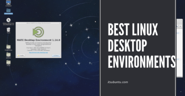 best Linux desktop environments in 2019