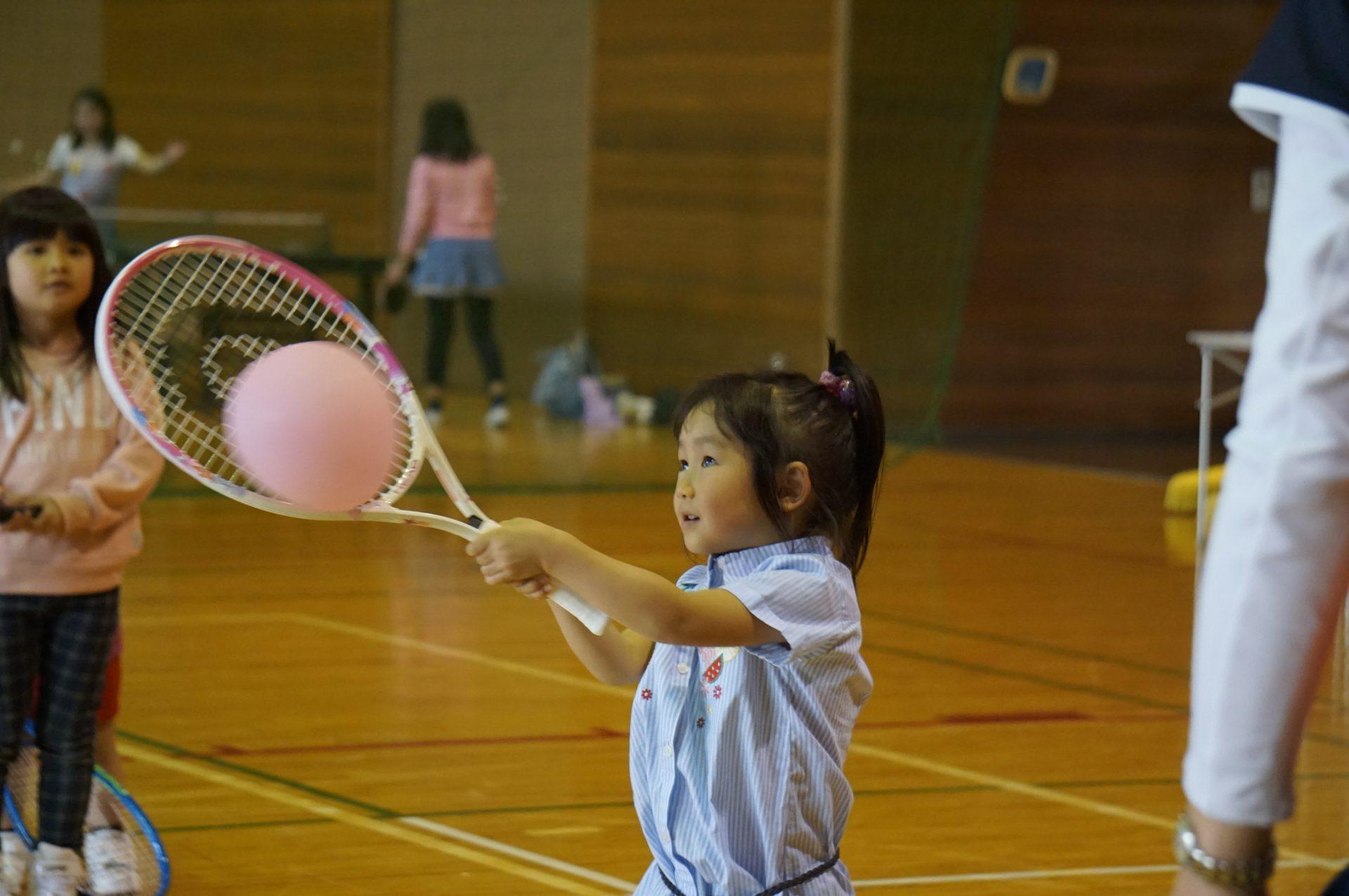 4月11日(水曜日) キッズテニス参加者募集案内