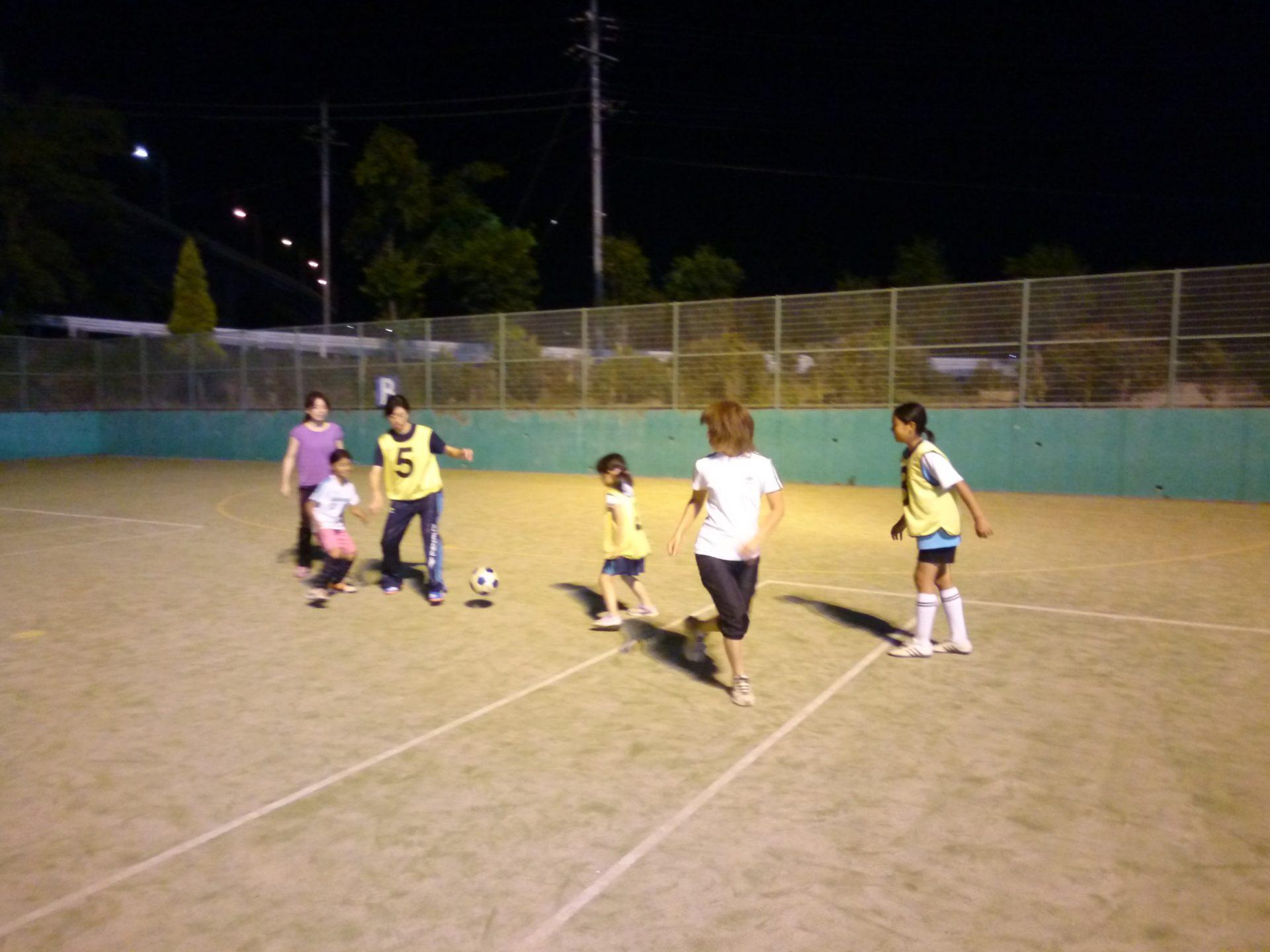 レディースサッカー