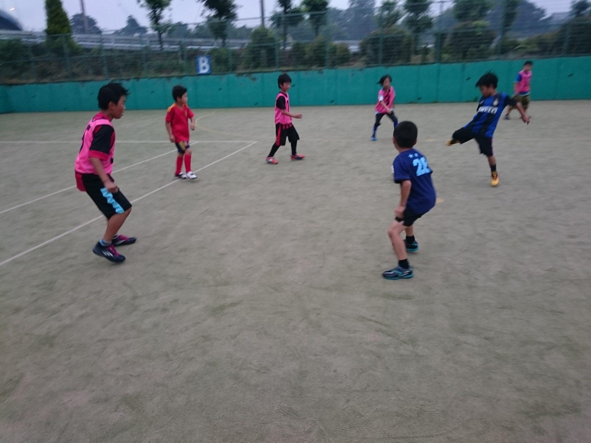 雨でしたが元気にエンジョイサッカーもGKスクールもやりました!