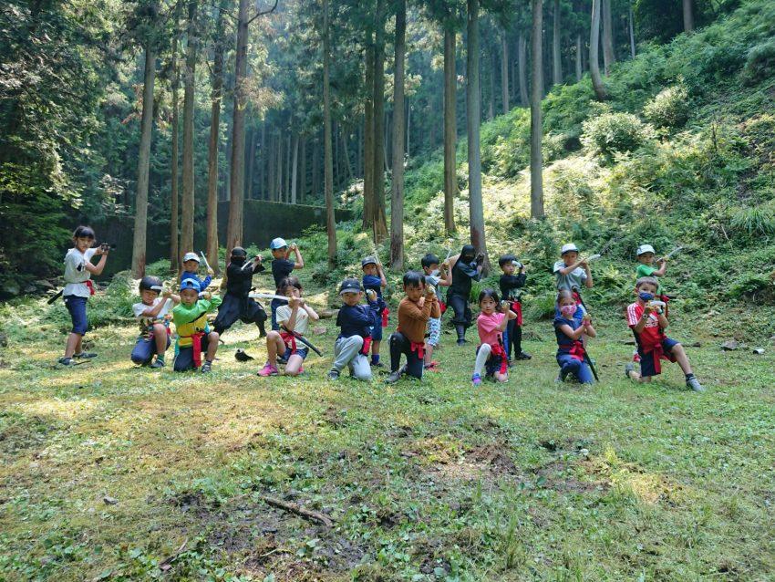 9月23日(水曜日)心と技を磨く子ども忍者教室 参加者募集案内