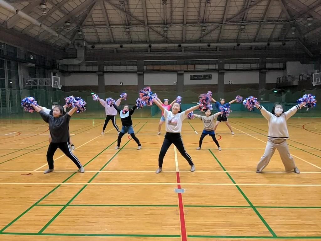 12月25日(金)チアダンス・スキルアップクラスプチ発表会【candy pop】
