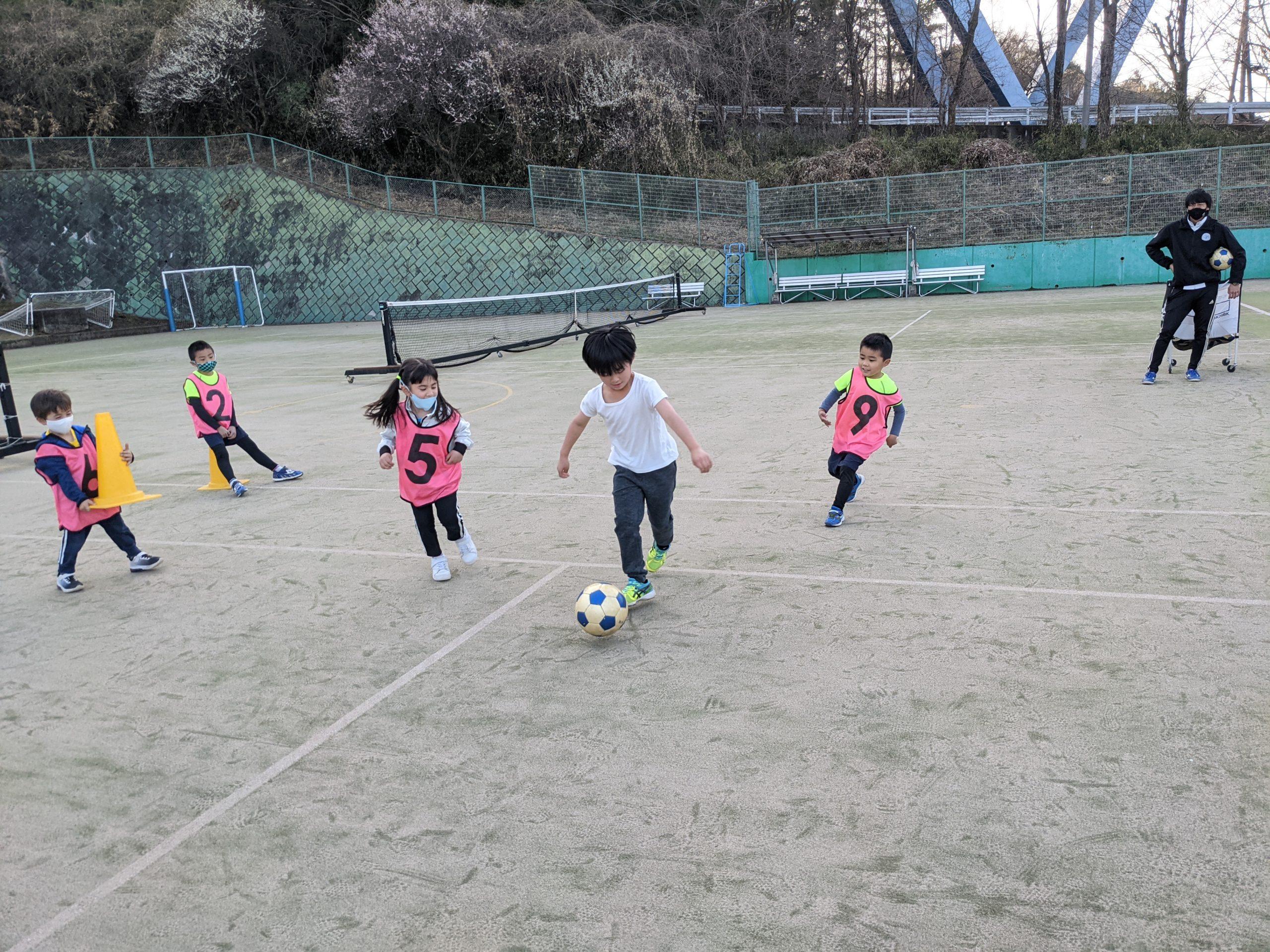 エンジョイサッカーやってます