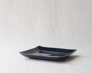 Arita Square Plate - Indigo