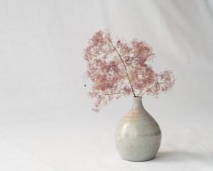 Mashiko Mini Flower Vase - Cloud