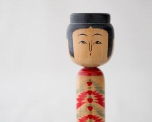 Vintage Kokeshi Doll - Megu