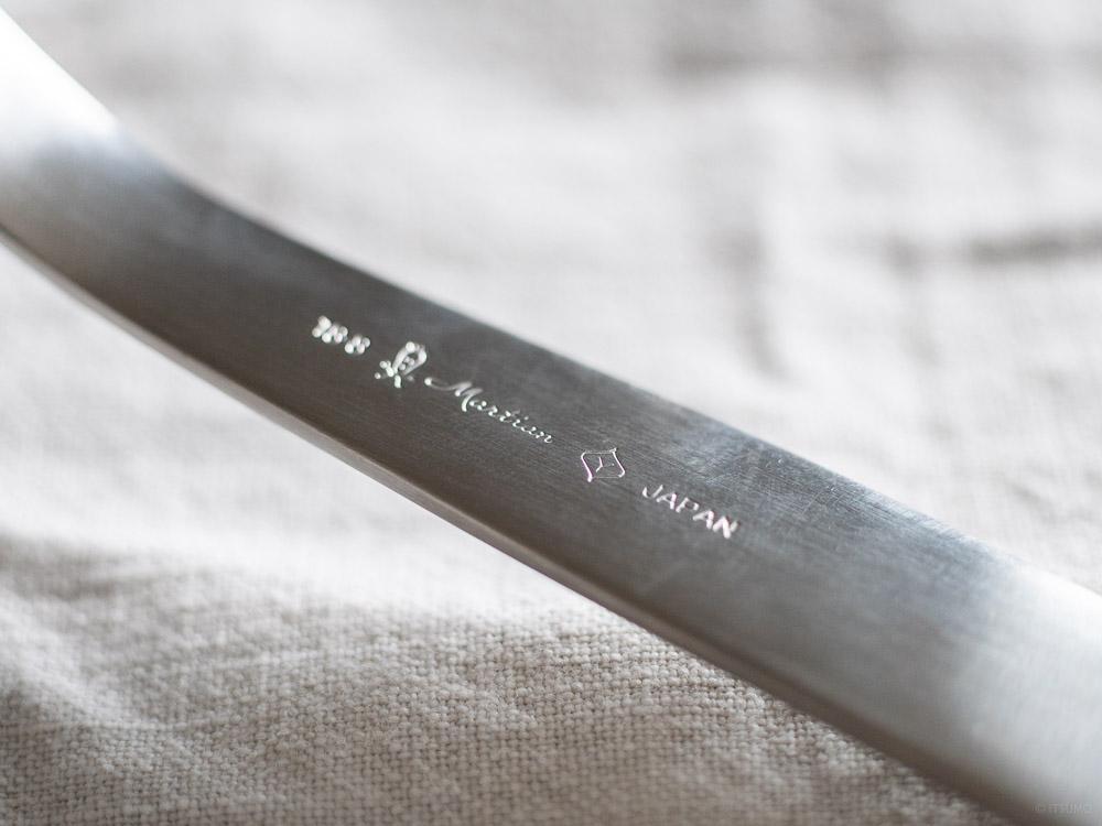 Sori Yanagi_Stainless utensil handle detail