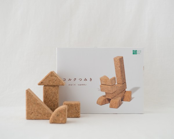 Cork Building Blocks - 12pcs