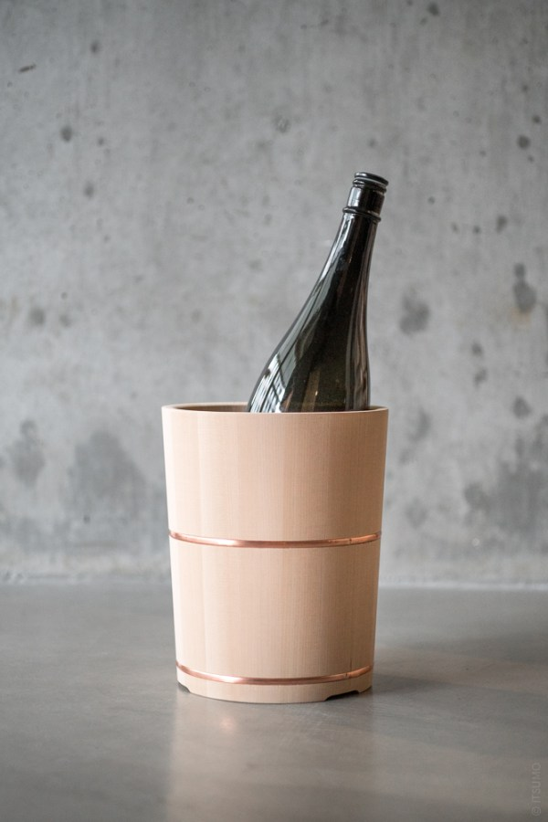 Azmaya_Hinoki Wine Cooler_top