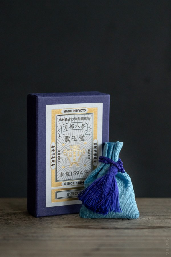 Kungyokudo_Incense Sachet_Otowa Waterfall_top