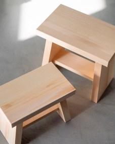 azmaya-hinoki bath stool-japanese cypress wood-4
