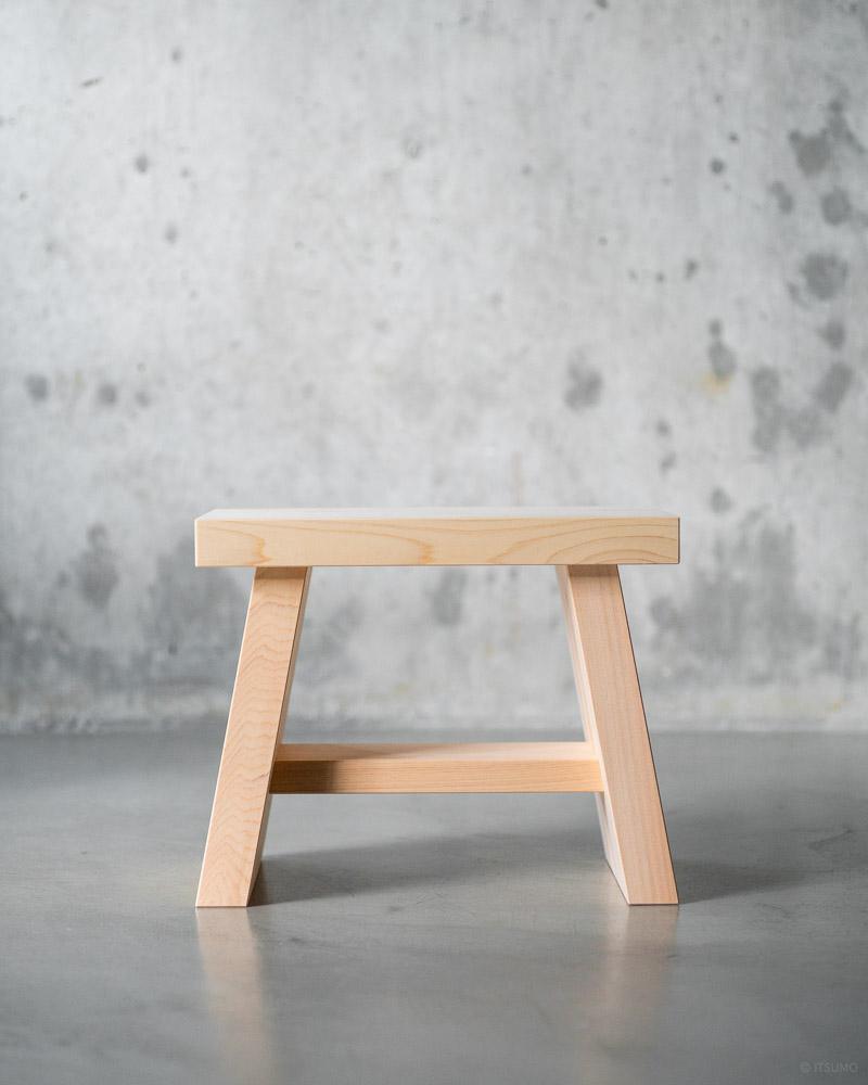 azmaya-hinoki bath stool-japanese cypress wood-5