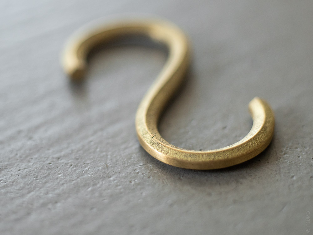 FUTAGAMI_Brass S Hook