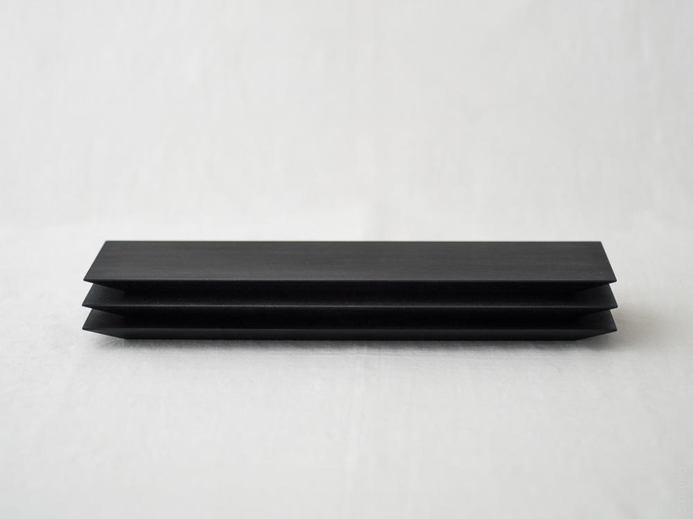 Masashi Ifuji_Rectangle Plate_blk_dl-4