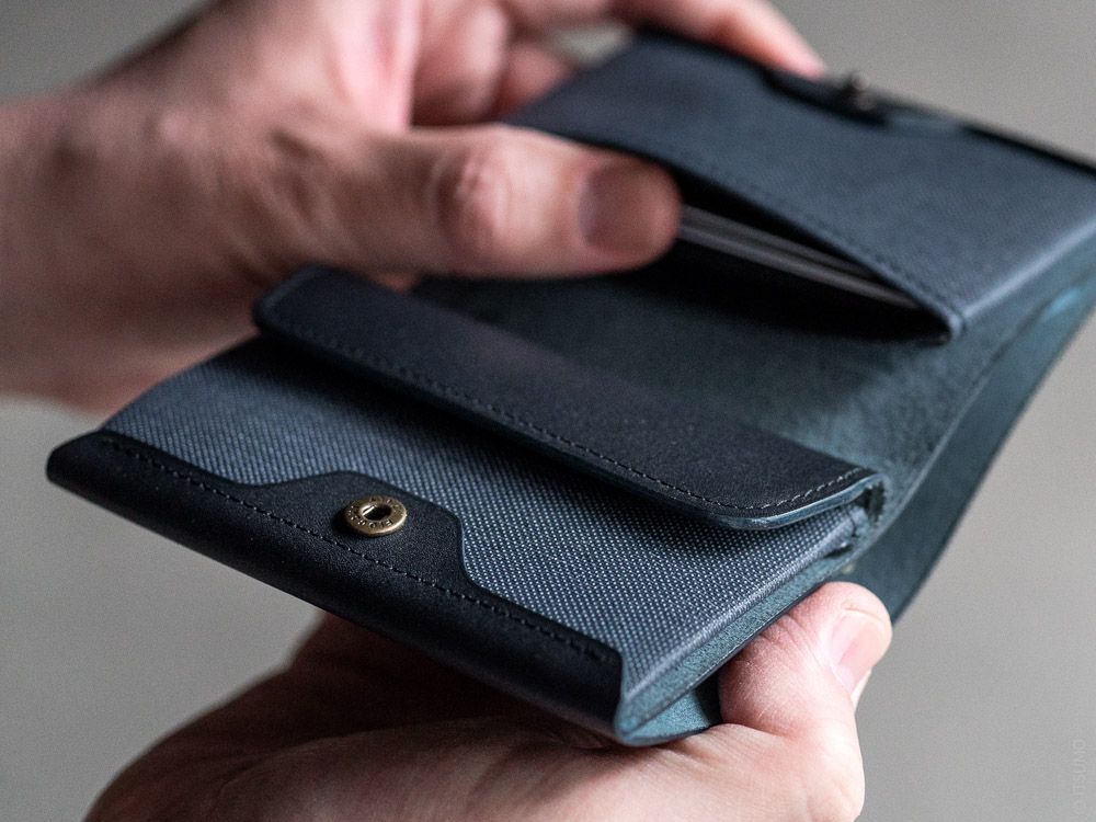 Postalco_Card & Coin Wallet_navy