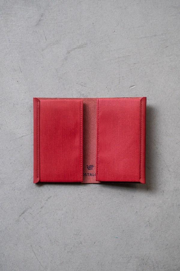 Postalco_Card Holder_brick red_top