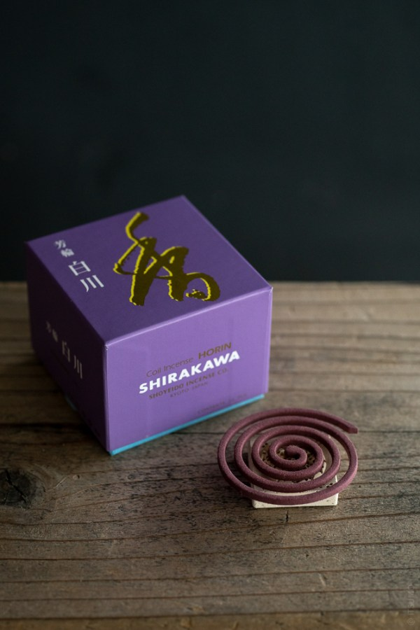 Shoyeido_Horin Incense Coil_Shirakawa_White River_top