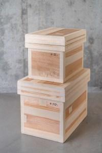Azmaya_Cedar Tea Storage Box_tall_top
