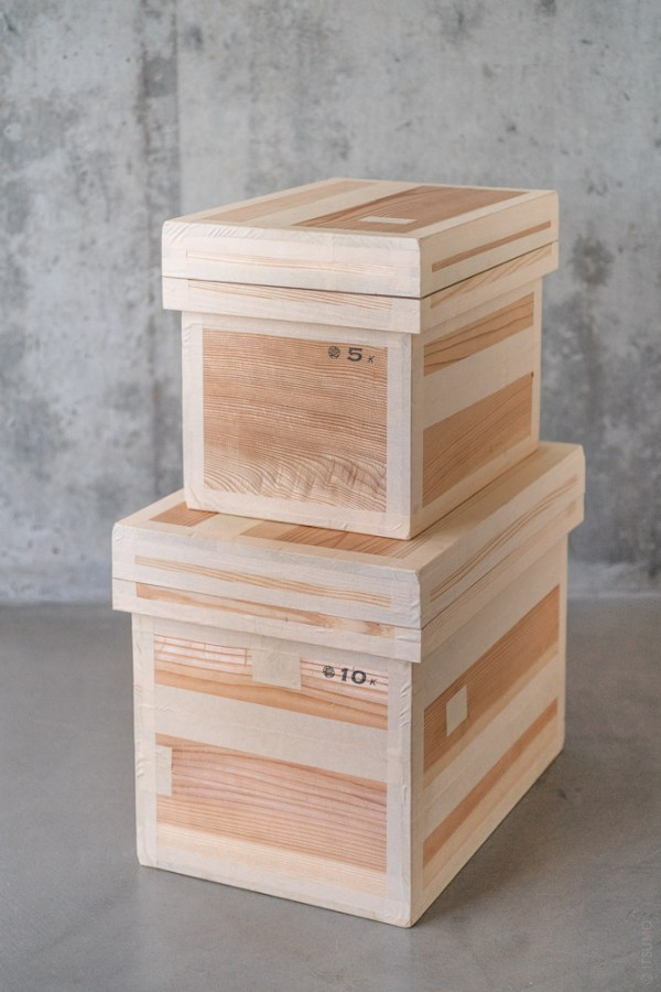 Azmaya_Cedar Tea Storage Box_tall_top