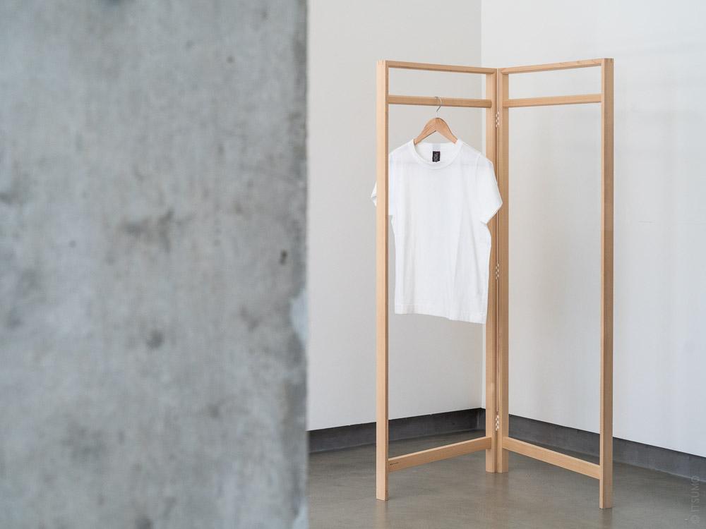 Azmaya_Hinoki Clothes Rack_wide